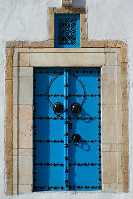 Photograph - Door In Tunis by Jon Emery