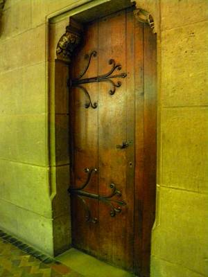 Photograph - Door Inside Notre Dame Paris by Manuela Constantin