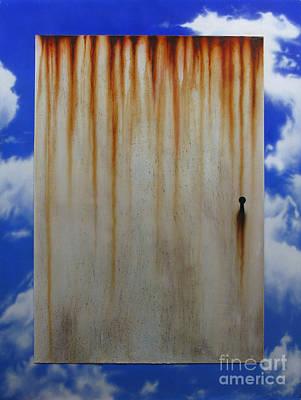 Surreal Art Painting - Door by Jurek Zamoyski