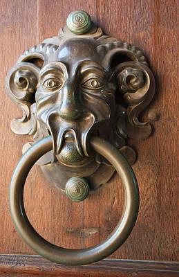 Door Knocker At The Neue Residenz (new Art Print