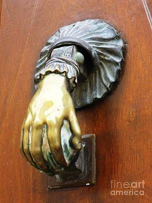Photograph - Door Knocker by Cristina Stefan