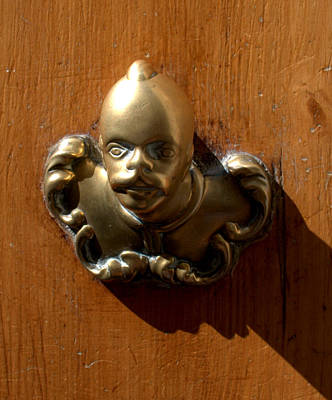 Photograph - Door Knocker Florence  I  by Caroline Stella