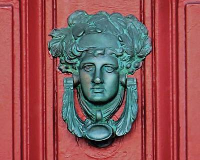 Photograph - Door Knocker by Janice Drew