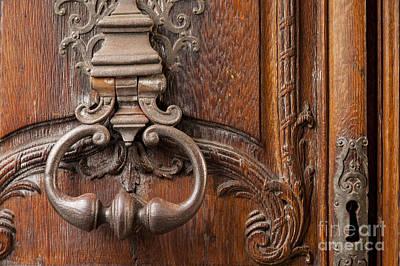 Photograph - Door Knocker - Paris by Brian Jannsen