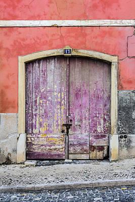 Old Door Photograph - Door No 13 by Marco Oliveira