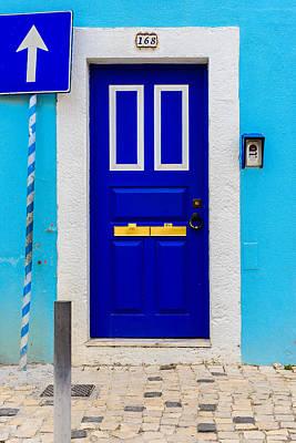 Old Door Photograph - Door No 168 by Marco Oliveira