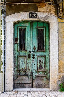 Old Door Photograph - Door No 176 by Marco Oliveira