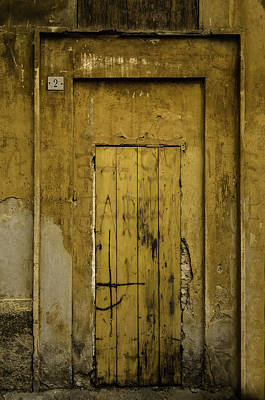 Photograph - Door No. 2 by Curtis Dale