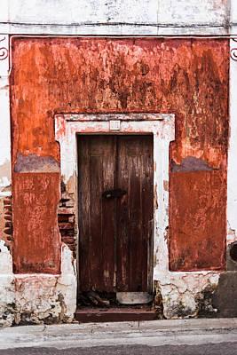 Old Door Photograph - Door No 38 by Marco Oliveira