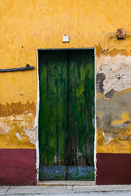 Old Door Photograph - Door No 42 by Marco Oliveira