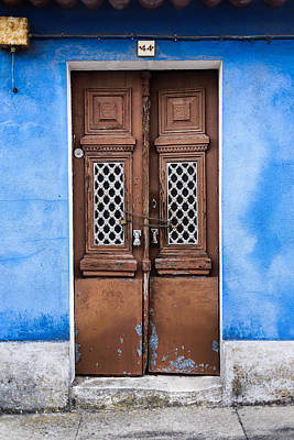 Old Door Photograph - Door No 44 by Marco Oliveira