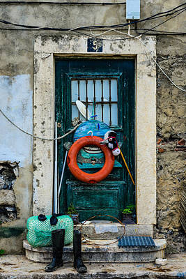 Old Door Photograph - Door No 5 by Marco Oliveira