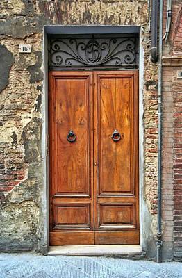Photograph - Door Number 16 by Allen Beatty