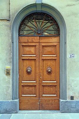 Photograph - Door Number 25 by Allen Beatty