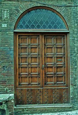 Photograph - Door Number 4 by Allen Beatty