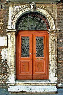 Photograph - Door Number 554 by Allen Beatty