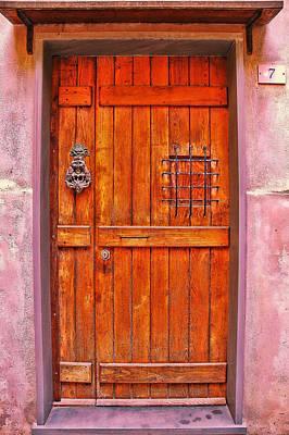 Photograph - Door Number 7 by Allen Beatty