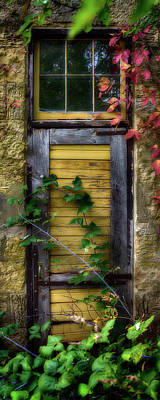 Photograph - Door Of An Old Brewery In Mineral by Panoramic Images
