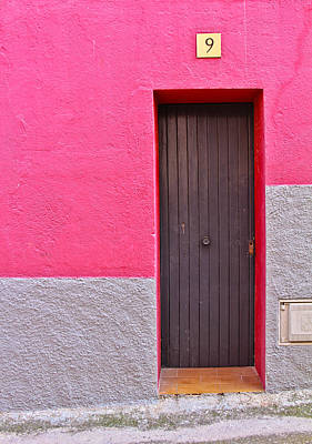 Spain Photograph - Door Of Catalunya Spain by Calvin Hanson