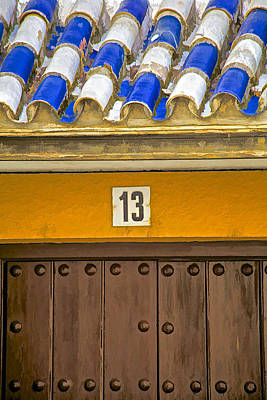 Photograph - Door Thirteen Of Spain II by David Letts
