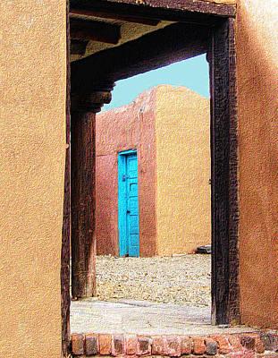 Photograph - Door Through Door by Nadalyn Larsen