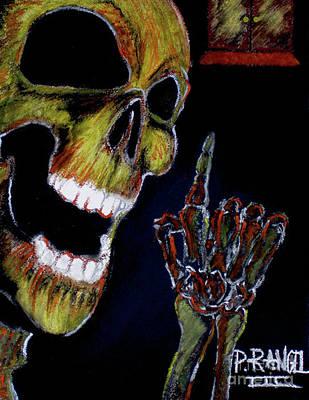 Horror Pastel - Door To Deception by Phillip Rangel