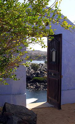 Photograph - Door To Enchantment -  Nubia -  Egypt by Jacqueline M Lewis