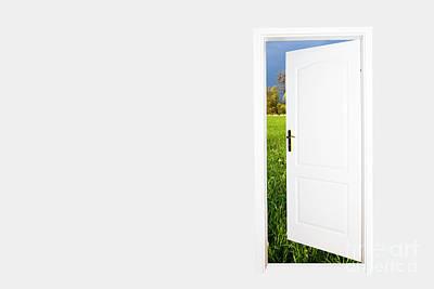 Success Photograph - Door To Green Land by Michal Bednarek
