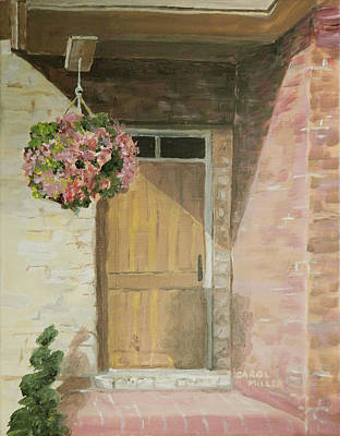 Painting - Door To Happiness by Carol L Miller
