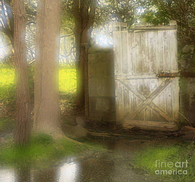 Door To Other Realms Print by Inspired Nature Photography Fine Art Photography