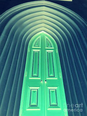 Photograph - New Orleans Door To The Emerald City Of Oz by Michael Hoard