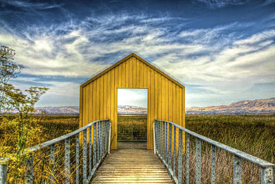 Photograph - Door To The Marshlands by SC Heffner