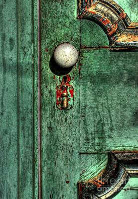 Photograph - Door To The Past by Benanne Stiens