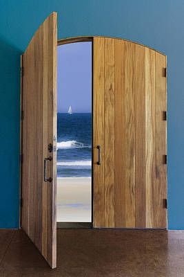 Photograph - Door To The Sea by Karen Stephenson