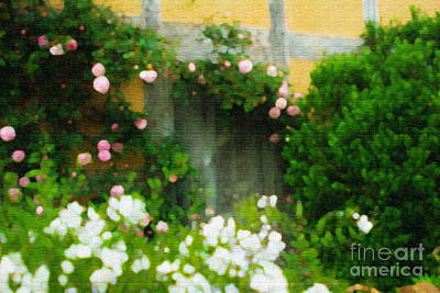 Photograph - Door To The Secret Garden by Beverly Claire Kaiya