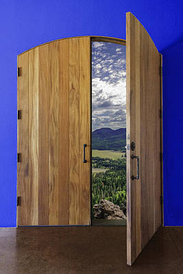 Photograph - Door To Wolf Creek by Karen Stephenson