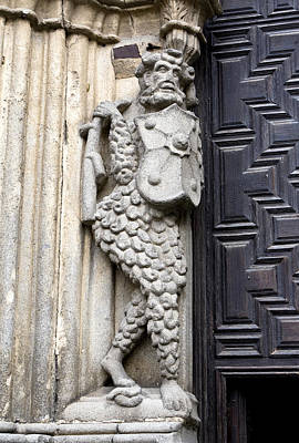 Photograph - Door Warrior by Lorraine Devon Wilke