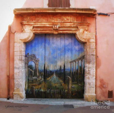Door With A View Art Print by Lainie Wrightson