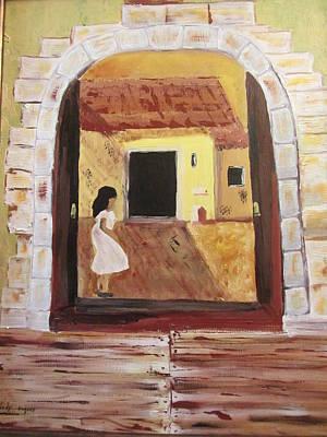 Door Within Art Print