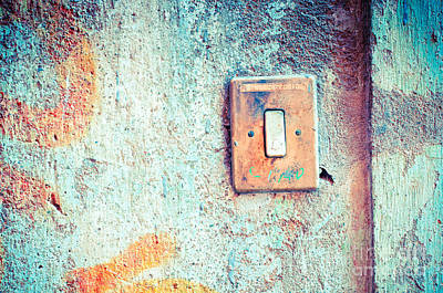 Photograph - Doorbell by Silvia Ganora