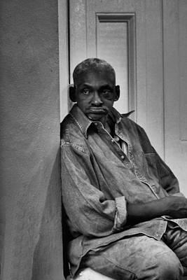 Photograph - Doorman by Nadalyn Larsen