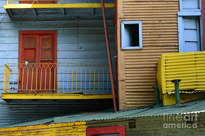 Doors And Windows Buenos Aires 4 Art Print