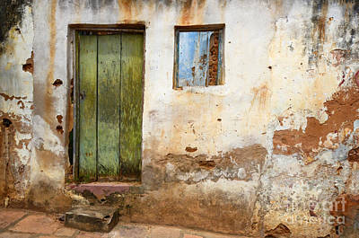 Doors And Windows Lencois Brazil 4 Art Print by Bob Christopher