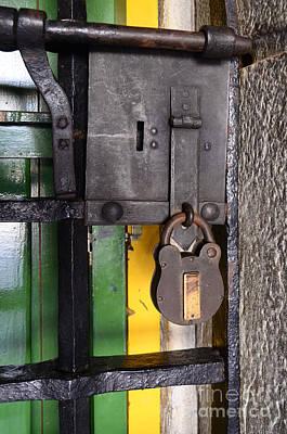 Old Door Photograph - Doors And Windows Minas Gerais State Brazil 12 by Bob Christopher