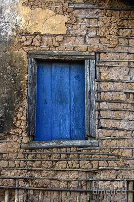 Old Door Photograph - Doors And Windows Minas Gerais State Brazil 17 by Bob Christopher