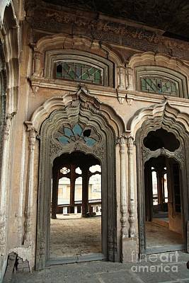 Photograph - Doors And Windows - Umar Hayat Mahal by Murtaza Humayun Saeed