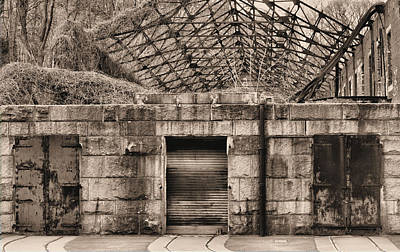 Boro Photograph - Doors Bw by JC Findley