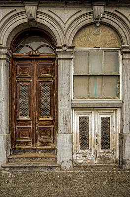 Photograph - Doors For Big And Small People by Martin New