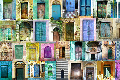 Morocco Photograph - Doors And Windows From Around The World by Cimorene Photography