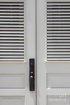 Namaste With Pixels Royalty Free Images - Doors in Puerto Rico Royalty-Free Image by Bryan Mullennix